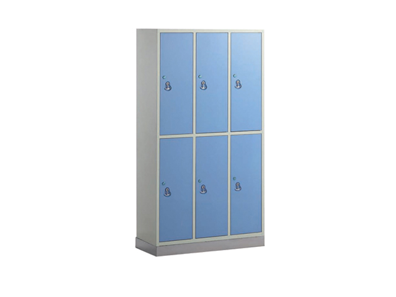 C-6 6-door stainless steel bace cuopboard for clothes