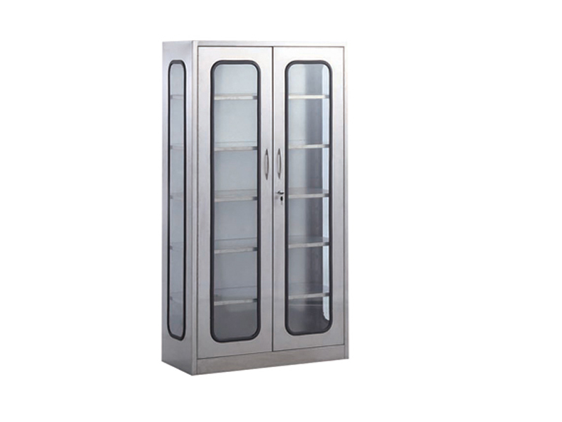 2-door stainless steel bace appliance cupboard
